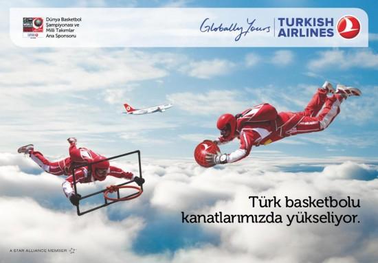 Türkler uçuyor