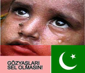 İsimtescil.net Pakistan yardım kampanyası