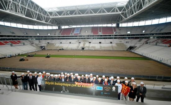 Türk Telekom Arena GS yeni statını gördük