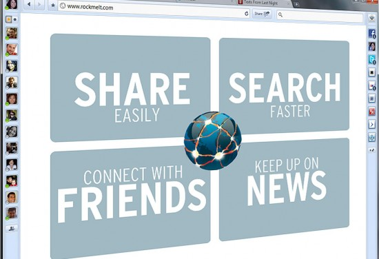 İnternet = Facebook ise tarayıcınız RockMelt