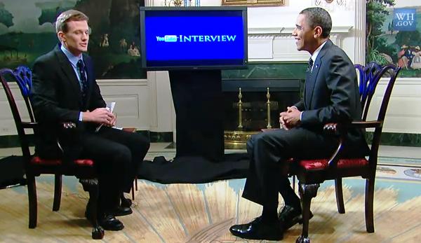 ABD Başkanı Obama Youtube da sorulara cevap verdi
