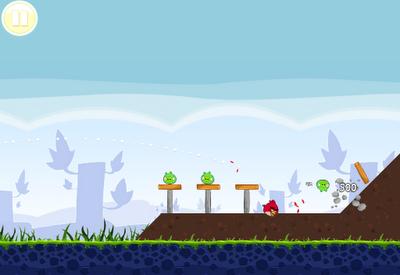 Angry Birds - Google Chrome 6