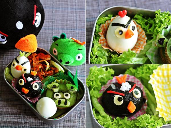 Angry Birds yemek tarifleri kitabı