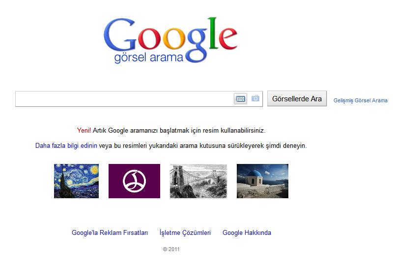 google-gorsel-arama