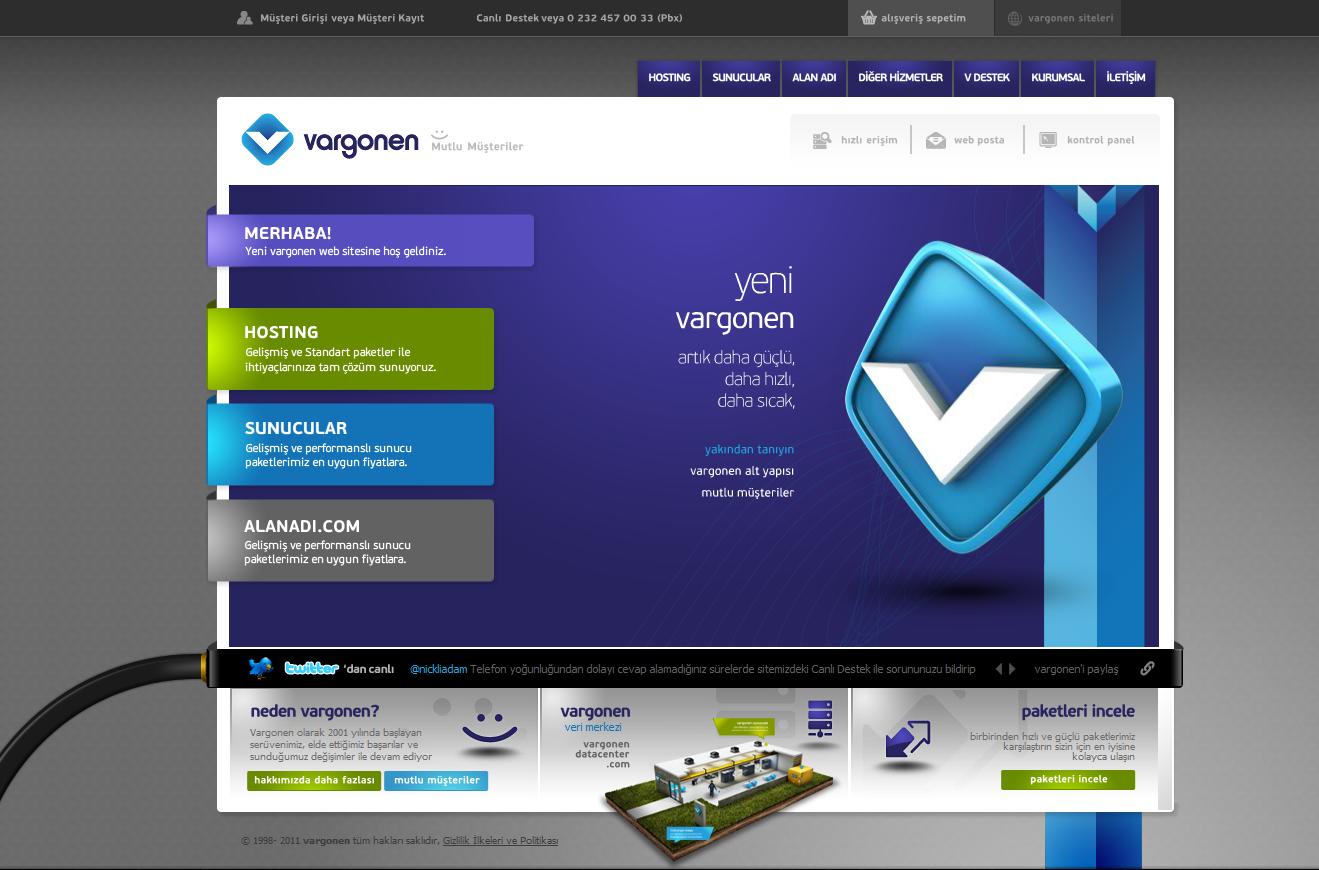 Vargonen Web Hosting