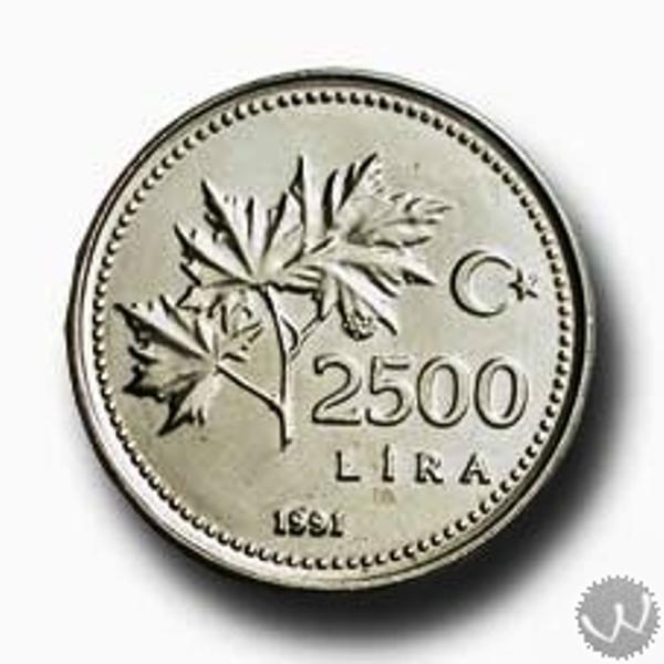 2500 lira