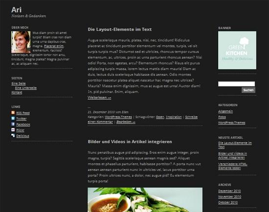 ari -2011 en iyi ücretsiz temalar