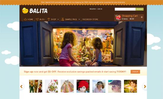 balita wordpress theme -2011 en iyi ücretsiz temalar