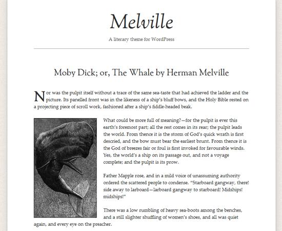 melville -2011 en iyi ücretsiz temalar