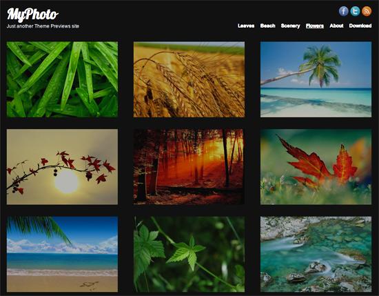 myphoto -2011 en iyi ücretsiz temalar