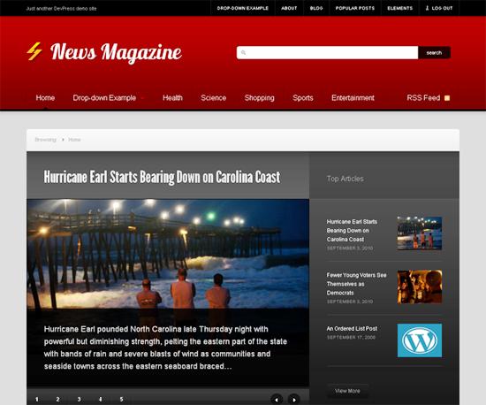 news -2011 en iyi ücretsiz temalar