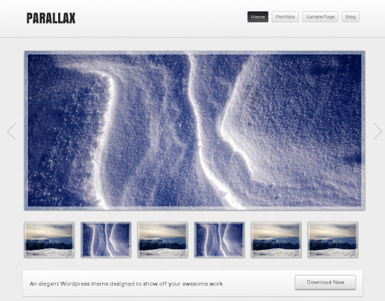 parallax -2011 en iyi ücretsiz temalar