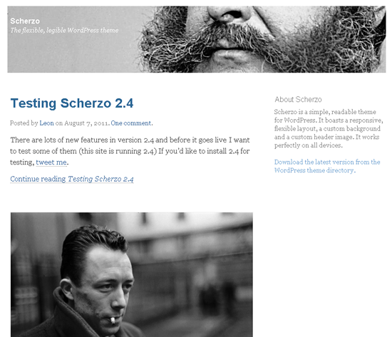scherzo -2011 en iyi ücretsiz temalar