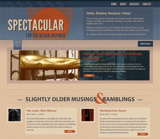 spectaular -2011 en iyi ücretsiz temalar