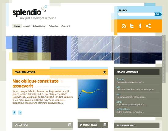 splendio -2011 en iyi ücretsiz temalar