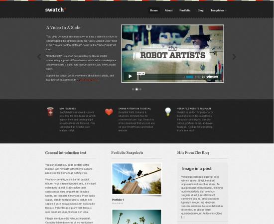swatch -2011 en iyi ücretsiz temalar