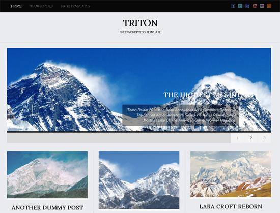 triton lite -2011 en iyi ücretsiz temalar