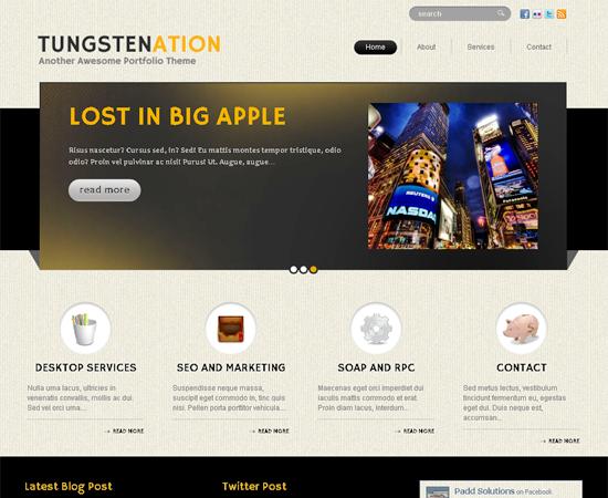 tungstenation -2011 en iyi ücretsiz temalar