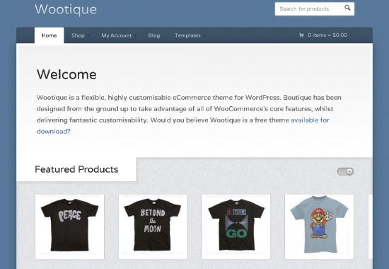 wootique -2011 en iyi ücretsiz temalar