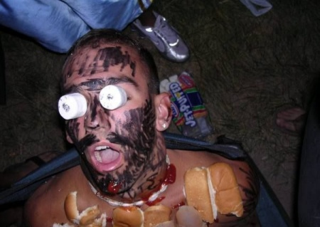 Partiden sonra sarhoş halleri