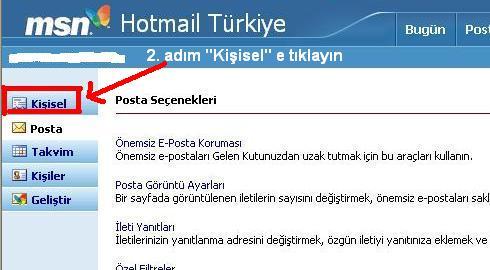 Msn hotmail hesabı kapatma 2