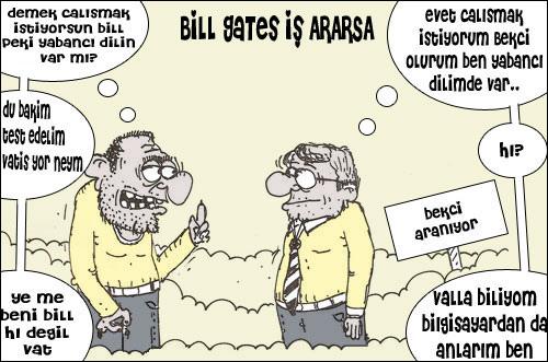 Bill Gates iş arıyor