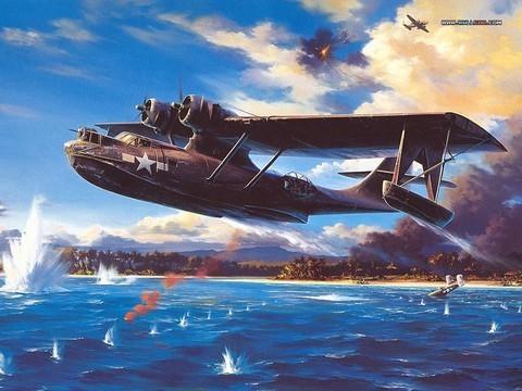 Harika Wallpaperlar - Airplane Art Painting - Art Air Combat (part 03) - wallcoo.net