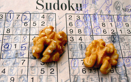 sudoku beyin ceviz