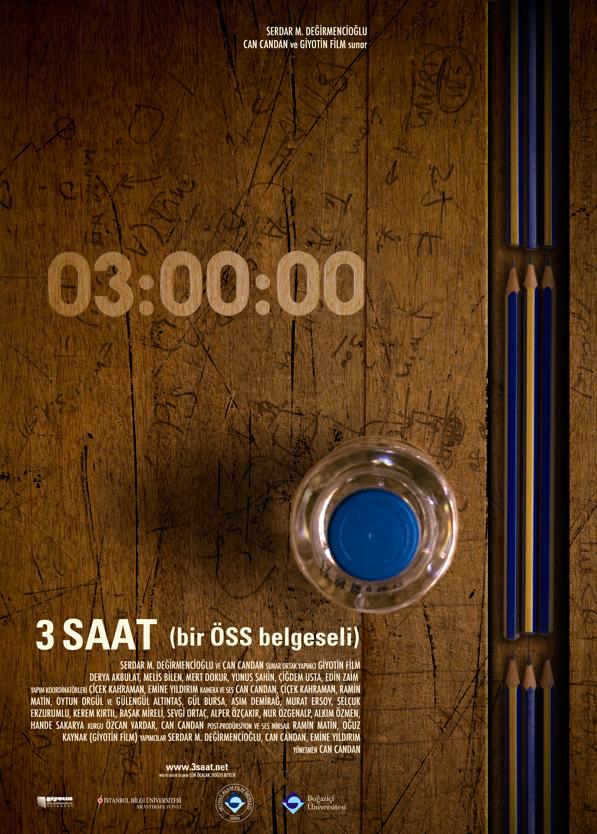 3 saat poster