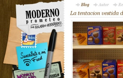 Moderno Prometeo, escrito por Rolando Hernandez - ekran görüntüsü
