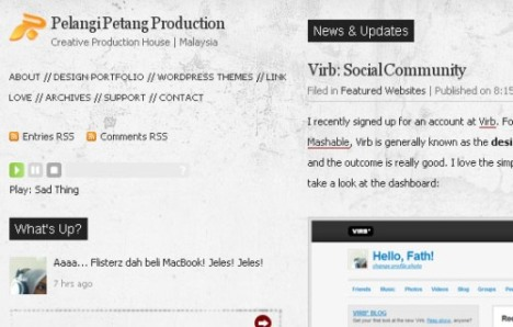Pelangi Petang Production - ekran görüntüsü