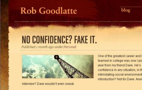 RobGoodlatte.com - ekran görüntüsü