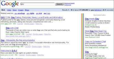 google gay