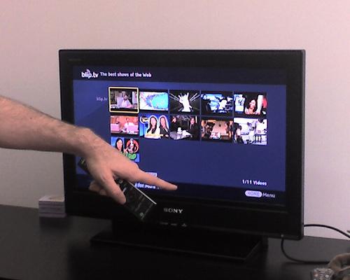 Sony ile YouTube televizyonda