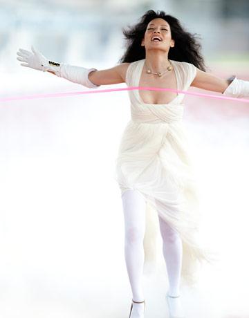 Lucy Liu Pekin Olimpiyatlarında