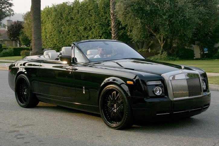 david beckham // Rolls-Royce Phantom Drophead 6