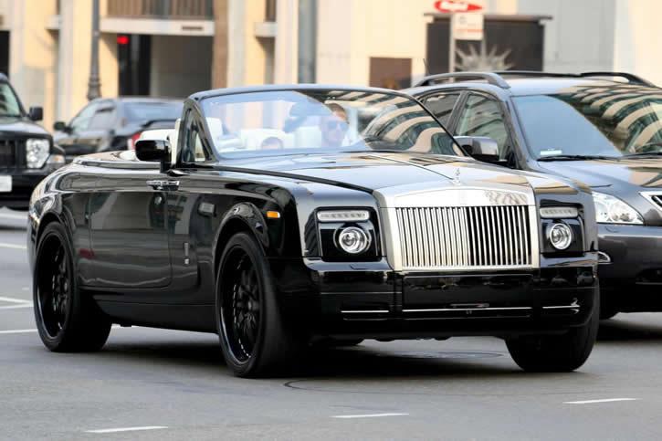 david beckham // Rolls-Royce Phantom Drophead 7