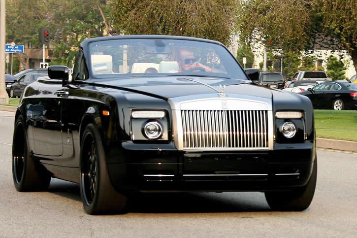 david beckham // Rolls-Royce Phantom Drophead 12