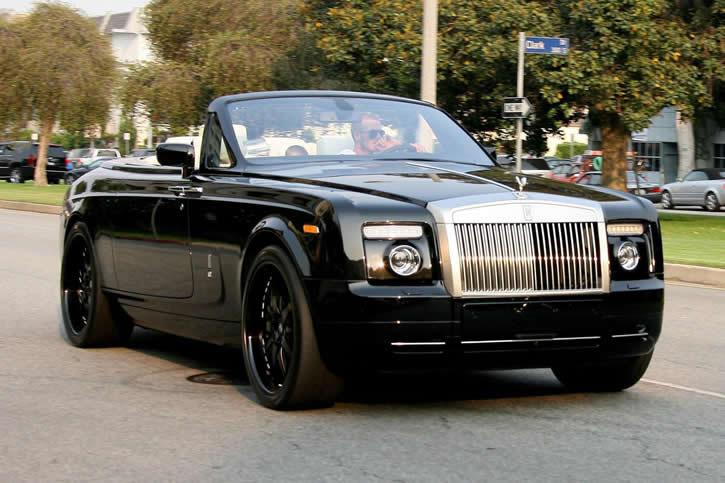 david beckham // Rolls-Royce Phantom Drophead 13