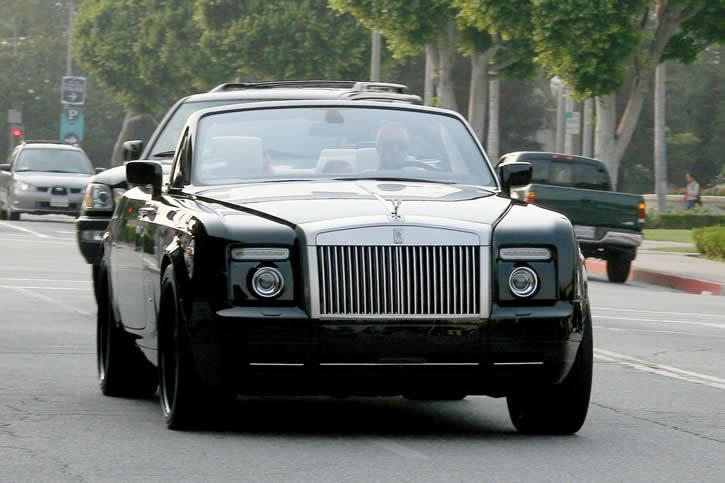 david beckham // Rolls-Royce Phantom Drophead 14