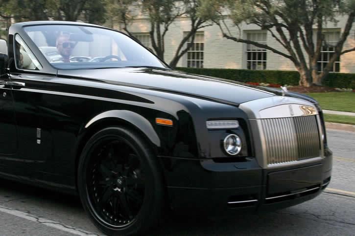 david beckham // Rolls-Royce Phantom Drophead 16