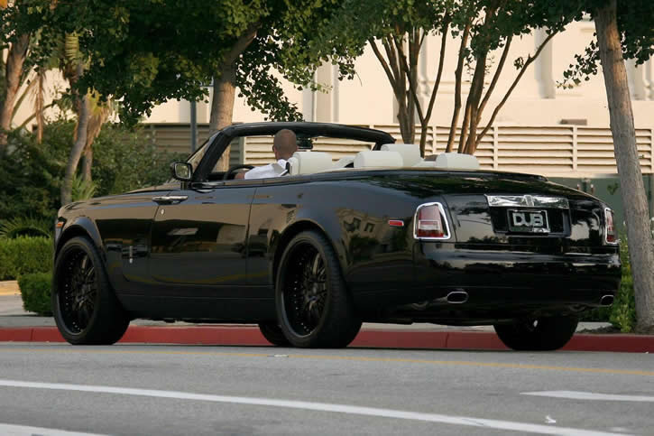 david beckham // Rolls-Royce Phantom Drophead 17