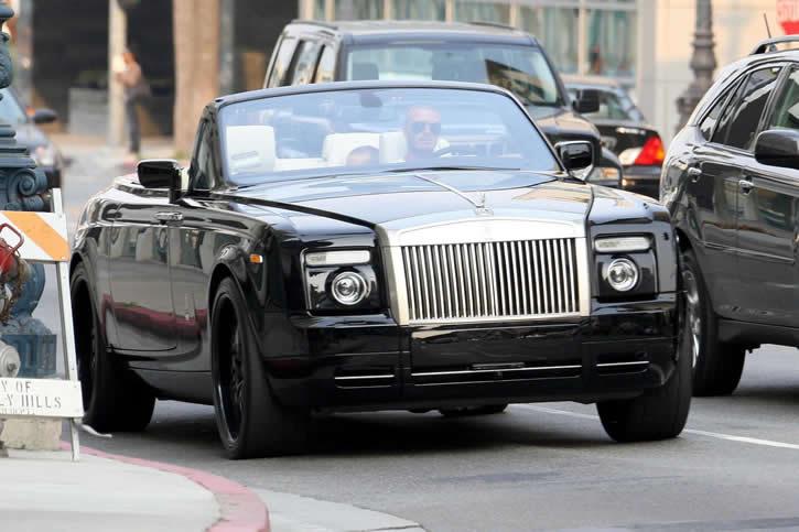 david beckham // Rolls-Royce Phantom Drophead 20