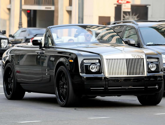 david beckham // Rolls-Royce Phantom Drophead 4