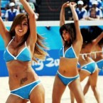 pekin olimpiyatları pon pon kızlar