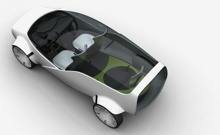 Concept car by Ilaria Sacco