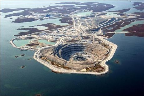 Diavik Mine Kanada