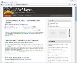 google chrome default white theme