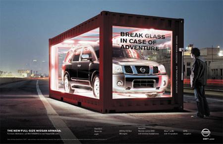 Nissan Cube Reklamı