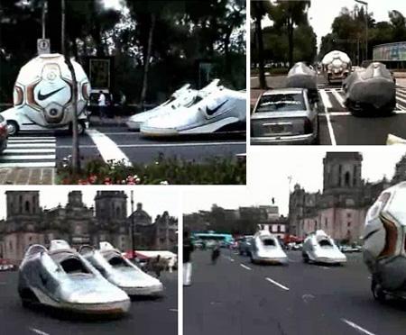 Nike Cars Reklamı